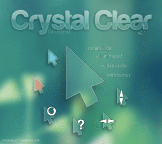 Crystal Clear best mouse pointer 4
