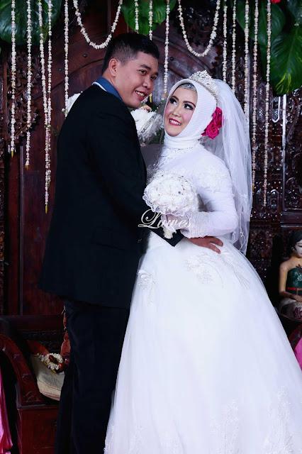 Makeup dan rias pengantin muslim hijab nuansa modern