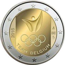 2€ Team Belgique - JO de Rio