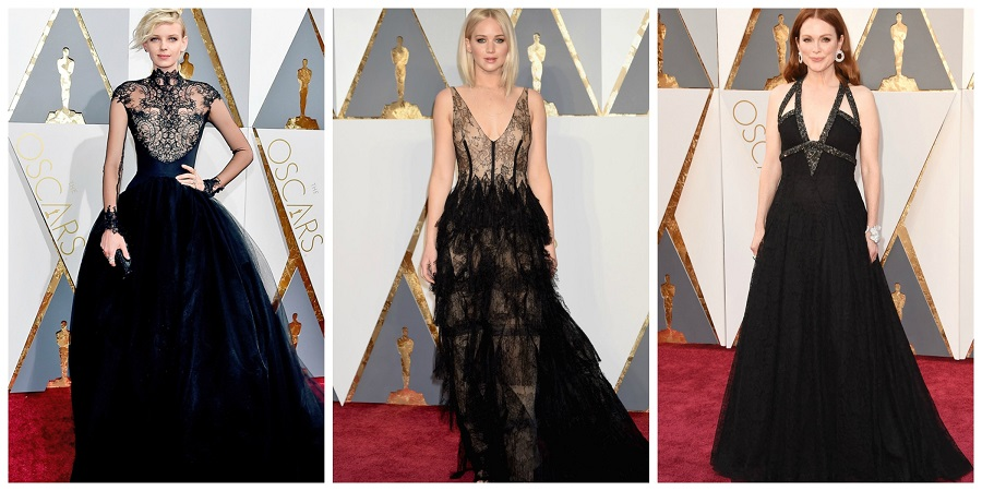 Oscars 2016 fashion, who wore who at the oscars, Dorith Mous, Jennifer Lawrence, Julianne Moore