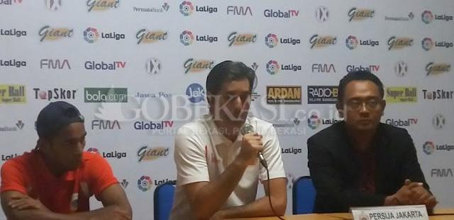 Kalah Telak dari Espanyol, Pelatih Persija Bilang Begini