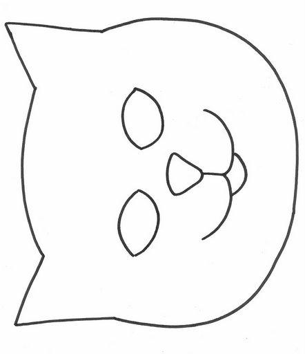 Caras De Gatos Para Dibujar