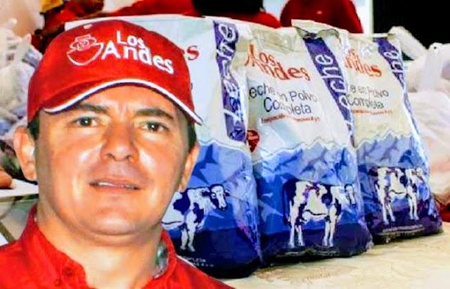 Luis Augusto Piligra y Amelys Cabrera desfalcarón en familia a Lácteos Los Andes en Venezuela