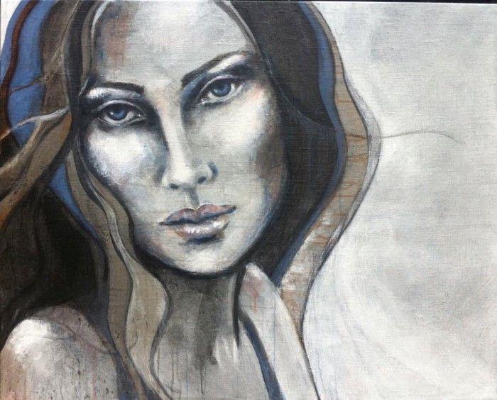 Нидерландский художник. Yvonne Olgers