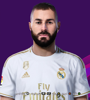 PES 2020 Faces Karim Benzema by So PES
