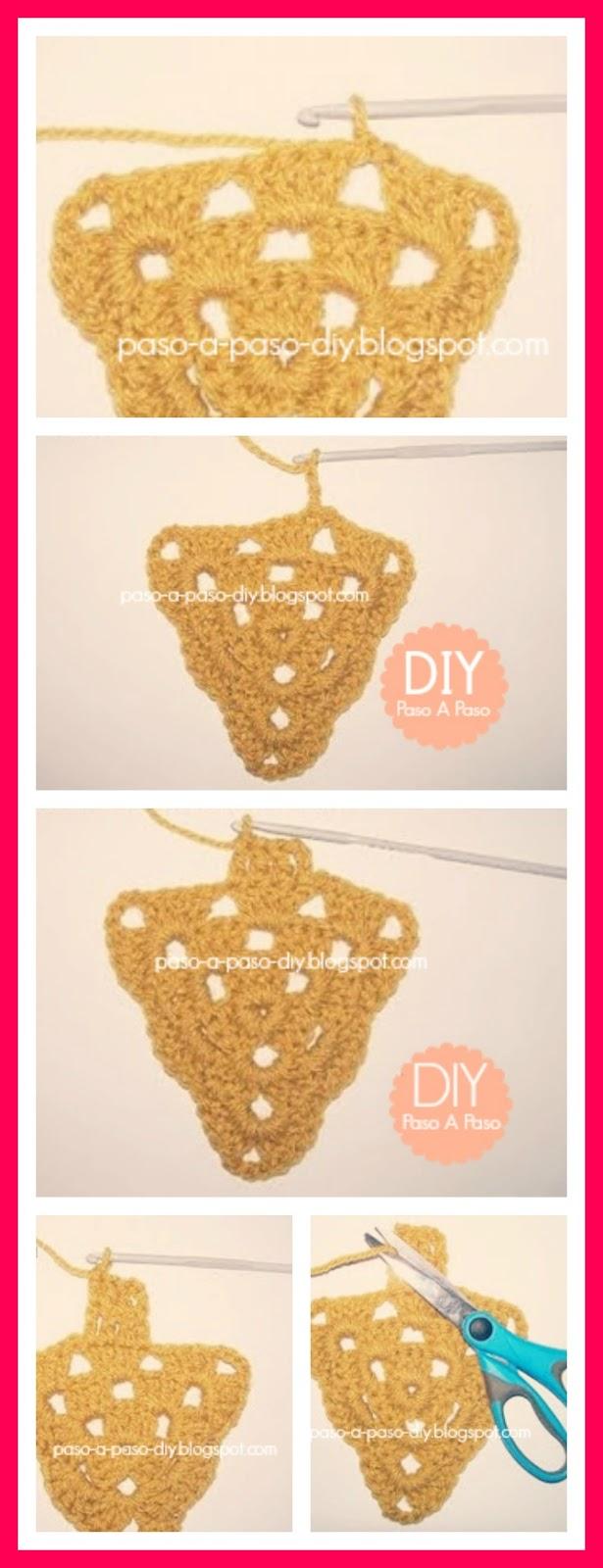 cómo hacer un árbol navideño al crochet