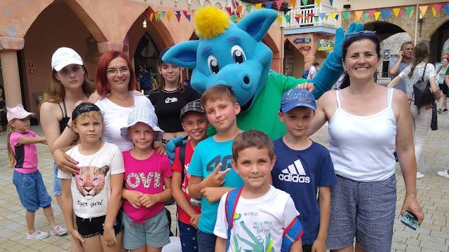 Wyjazd do Energylandii uczniów GZS w Łagowie i Szkoły Filialnej w Lechówku