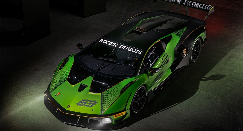 Lamborghini Essenza SCV12 is the first road car with full carbon chassis