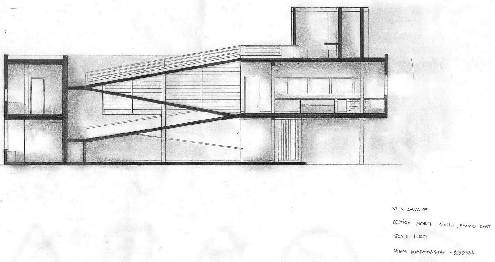 Floor Plan Villa Savoye