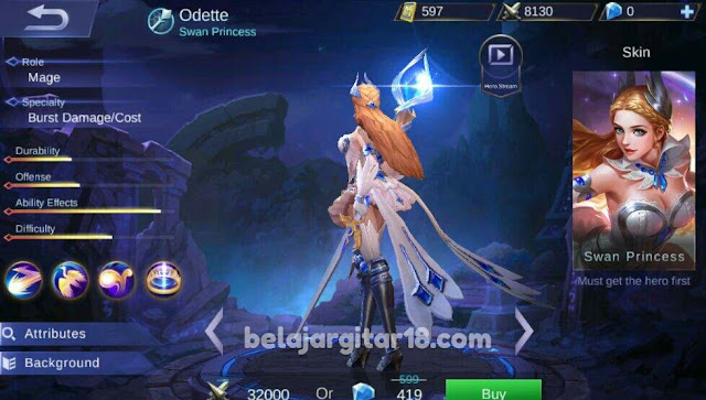 Odette mobile legends