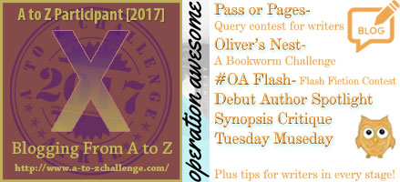 #AtoZchallenge 2017 Operation Awesome Xenogeneic-like Ways to Use Other Genres To Improve Your Story