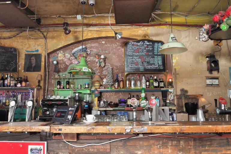Ruin bar Szimpla Kert de Budapest
