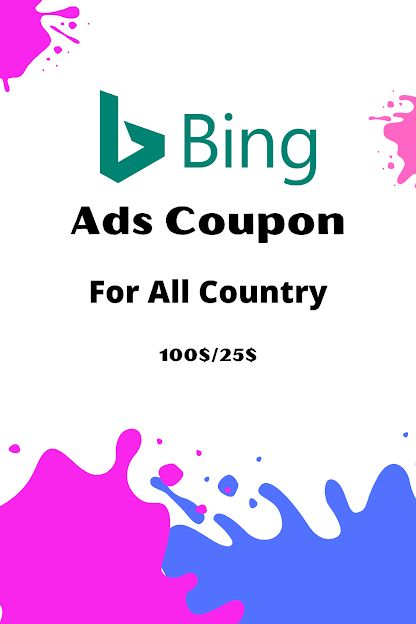 Bing Ads Coupon Country