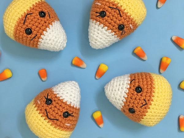 Amigurumi Candy Corn - A Free Crochet Pattern