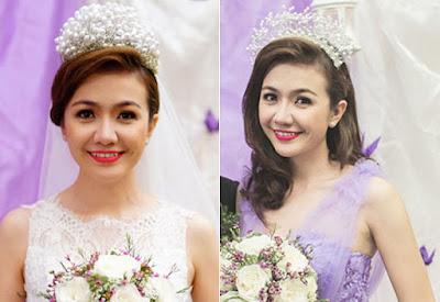 Những mẫu phụ kiện cài tóc cô dâu đẹp tinh xảo phù hợp với kiểu tóc búi cao 1