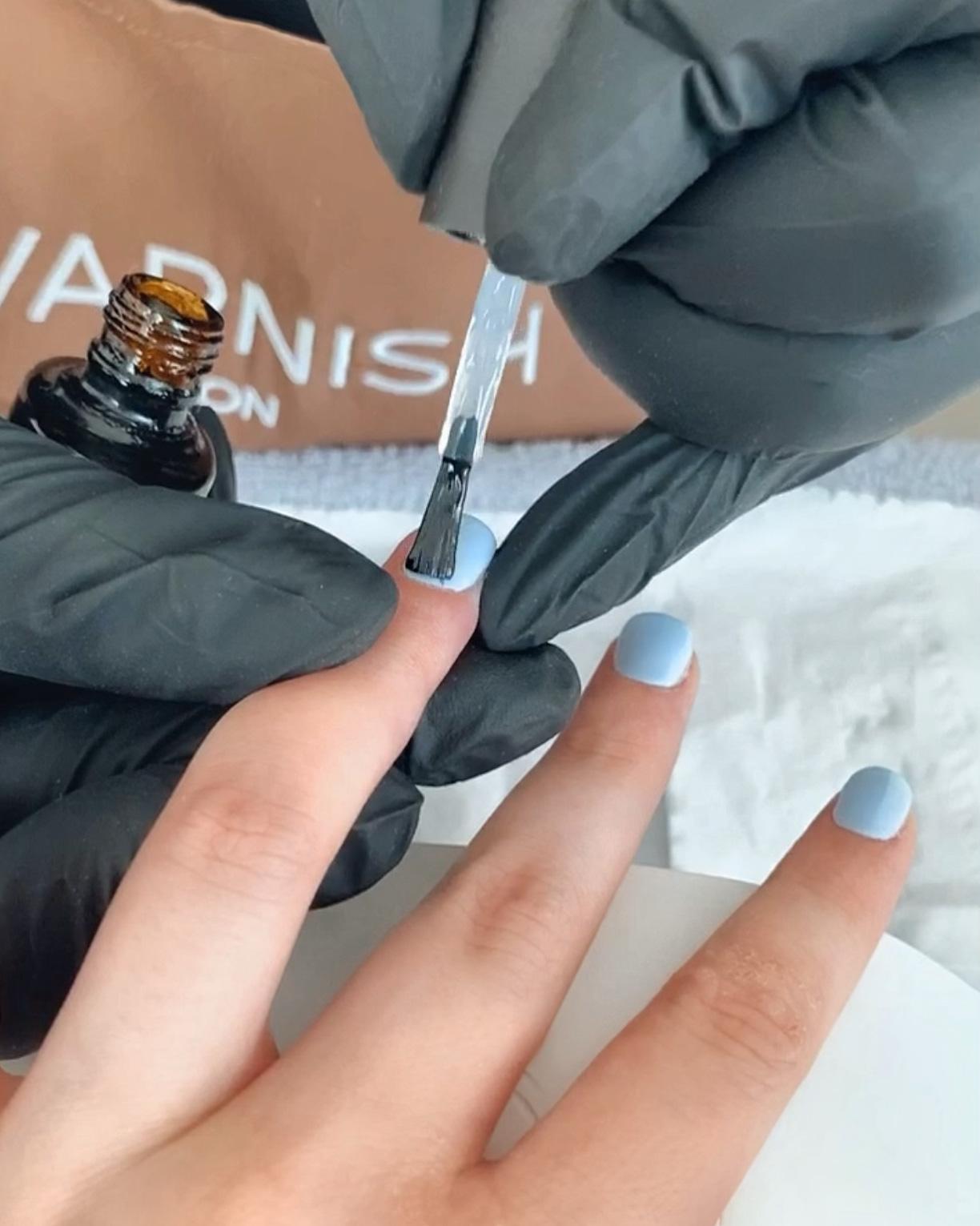 revarnish london gel manicure review