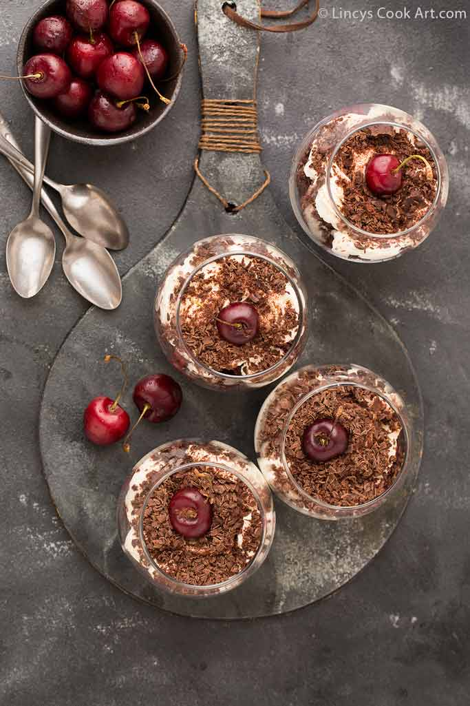 black forest trifle image