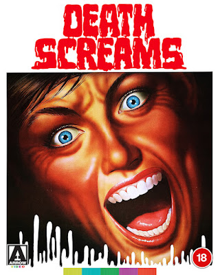 Even more limited edition O-Card artwork for Arrow Video's DEATH SCREAMS Blu-ray!