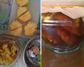 fermentasi kulit nanas