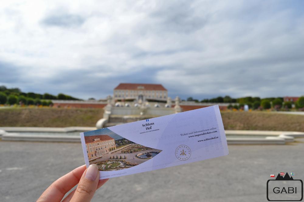 Austria Schloss Hof, pałac, bilety