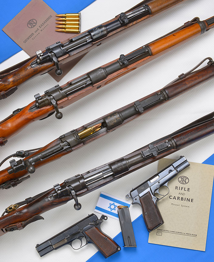 WARFARE Blog: Mausers FN E A Luta Por Israel