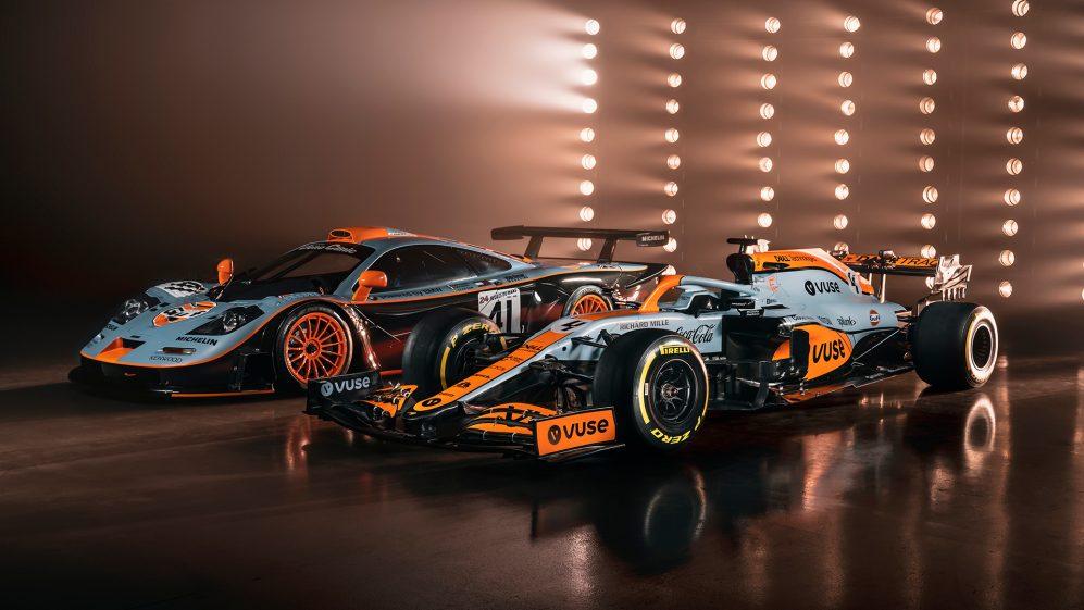 A McLaren correu com todas as cores do Golfo apenas uma vez - em Le Mans em 1997, com o McLaren F1 GTR
