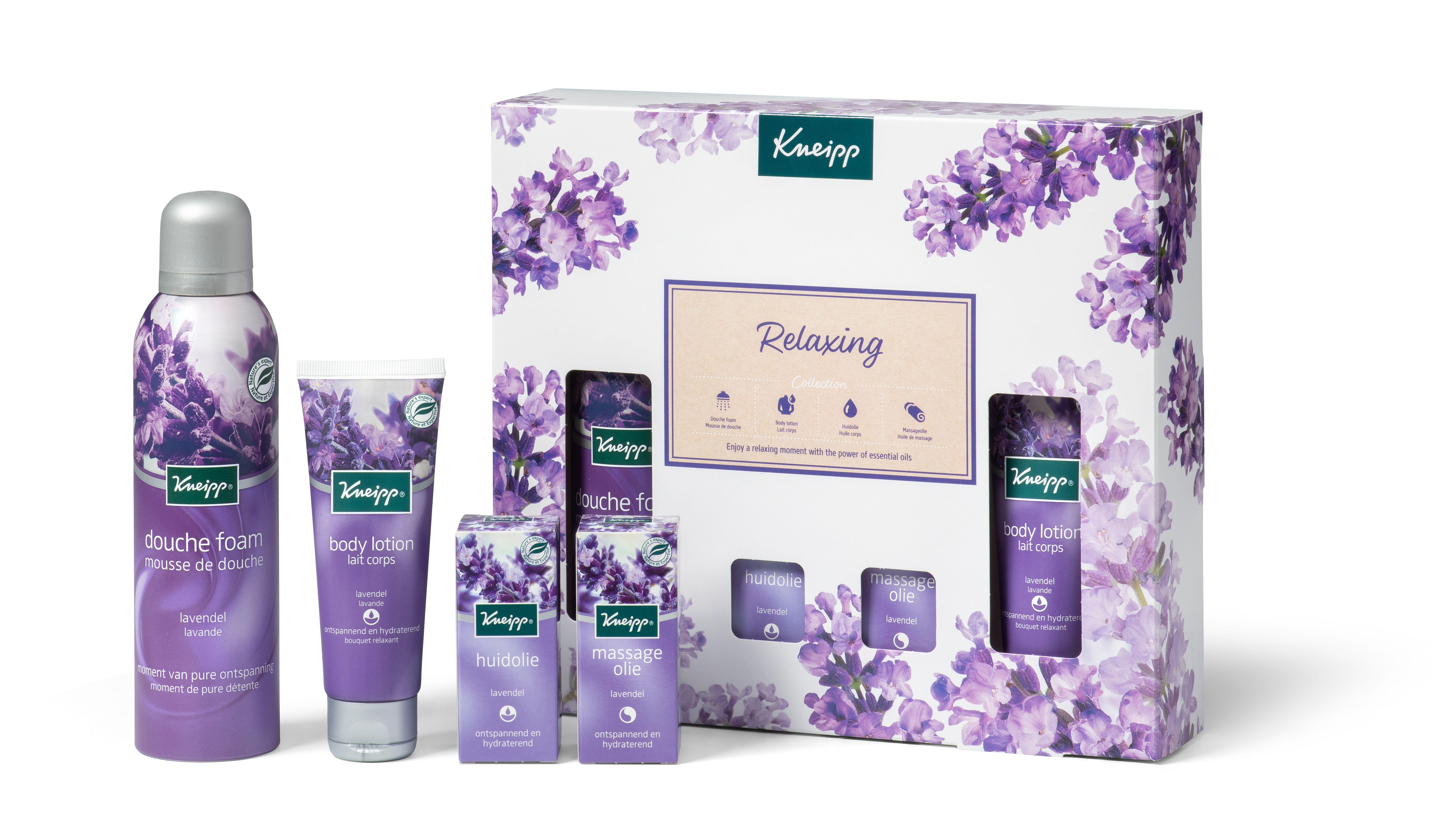 Nieuwe kneipp Giftsets voor Sint/kerst 2020 Lavendel collectie