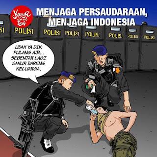 Bravo TNI - POLRI Untuk NKRI