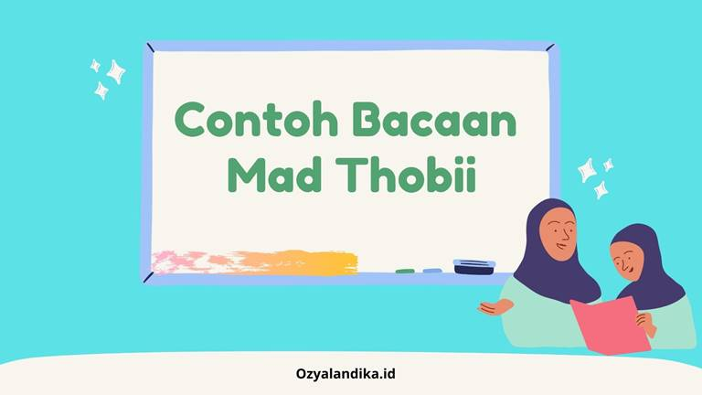 Contoh Bacaan Mad Thobii