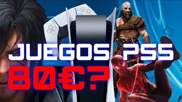Polémica: PlayStation defiende los precios de los juegos de PS5 y aseguran que 80$ no es nada!