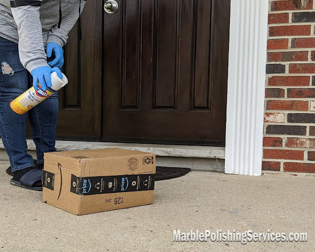 How to sanitize your Amazon packages