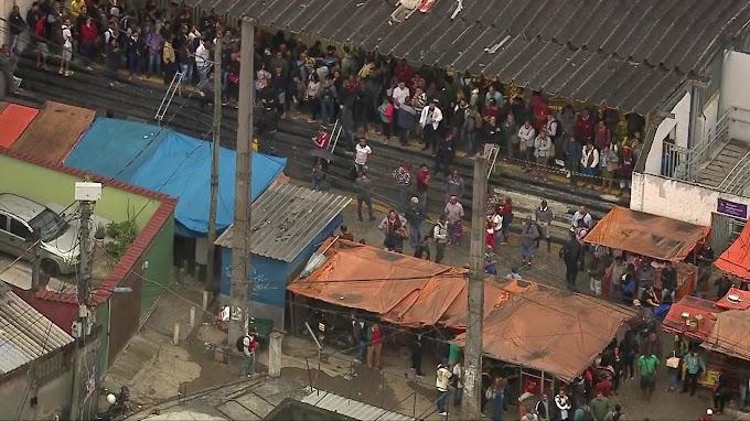 Tiroteio no Rio de Janeiro atrasou a operação dos trens da SuperVia na manhã desta Quarta-Feira (25)