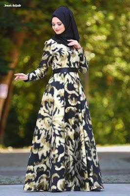 فستان مكسي بطبعة زهور