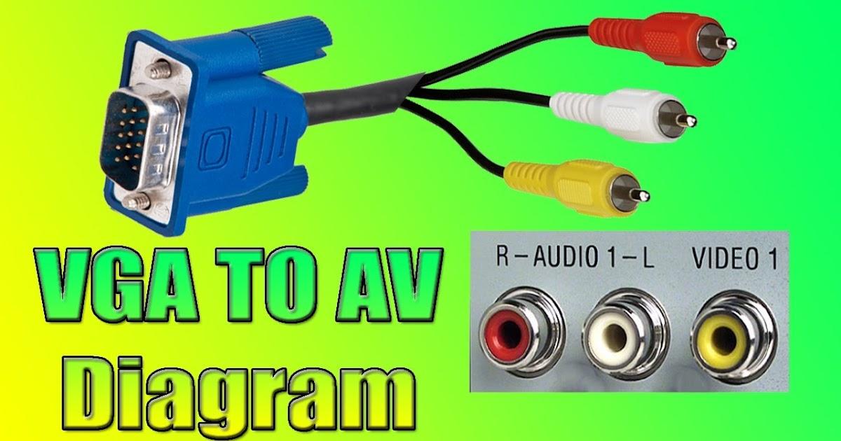Av To Vga Cable Diagram