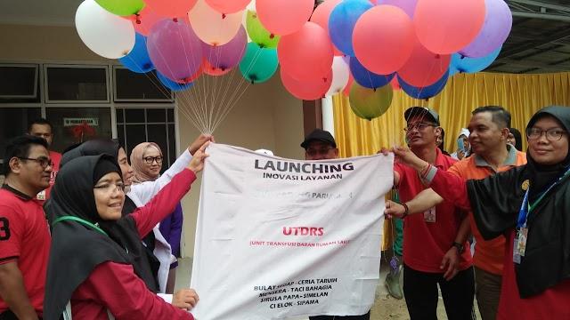 Sekda Jonpriadi Launching Banyak Inovasi RSUD Pada Perayaan Hari Kesehatan Nasional ke-55