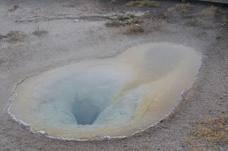 hot pool Yellowstone