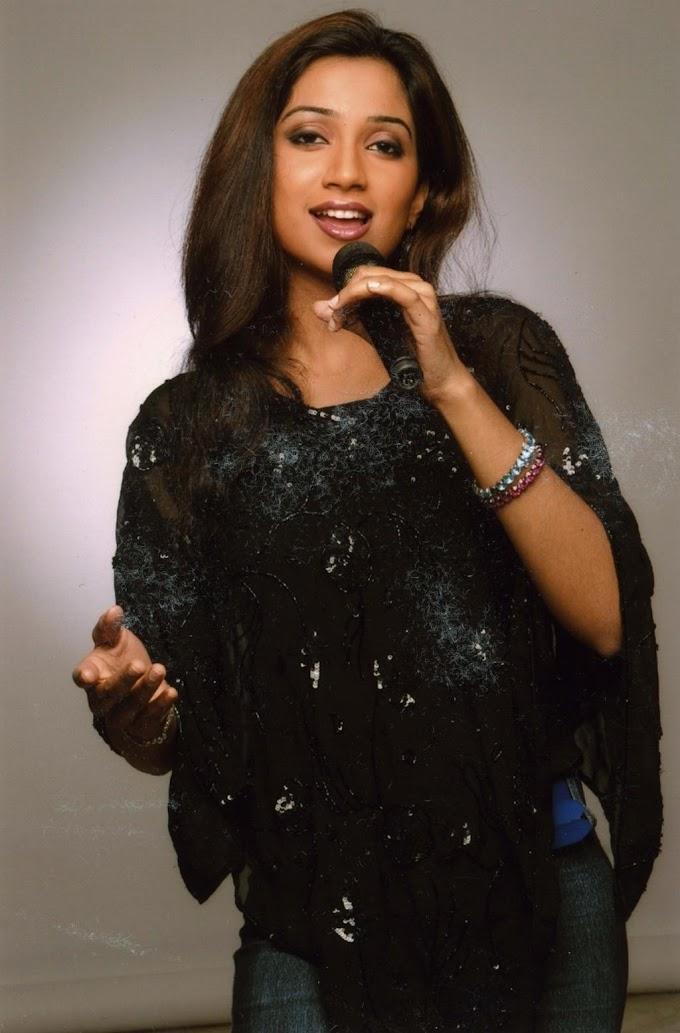 Biography of Shreya Ghoshal .