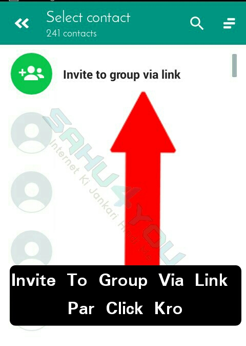 how to read a link from whatsapp