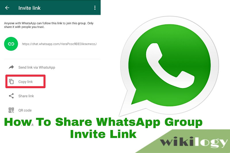 How To Share WhatsApp Group Invite Link
