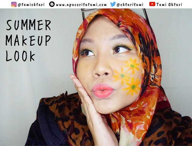 [TUTORIAL] Summer Makeup Look | Face Painting Version