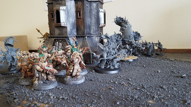 8th edition 500 point death guard army list starter chaos