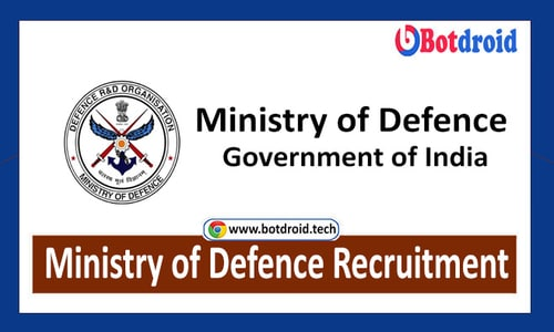 Defence Jobs 2021, Ministry of Defence Recruitment | Apply For Latest Defence Jobs in India