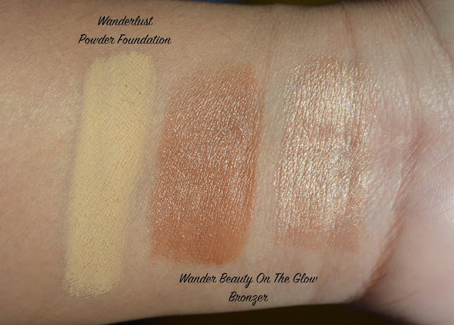 wander beauty wanderlust powder review and swatches