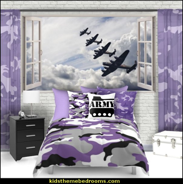 purple camo girls army bedroom    purple camo girls army bedroom, Purple Camouflage bedding, purple Camo Girly Army bedroom decorating ideas, purple camo bedroom decor, purple black white camouflage bedroom accessories