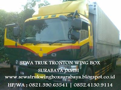 SEWA CARTER TRUK TRONTON WING BOX SURABAYA KE JAMBI MUARA BULAN SELAT BETUNG PAMENANG BANGKO MERLUNG SUNGAI PENUH SIMPANG