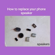 How to replace your phone speaker