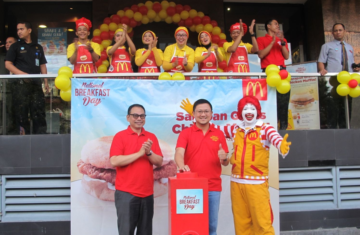Sarapan gratis di McDonalds (provoke-online.com)