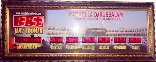 jam dinding digital untuk masjid (118) membuat jam digital masjid (46) jadwal shalat digital (31) waktu sholat digital (21) jual jadwal sholat digital bagus untuk masjid (21) jam waktu shalat (19) pusat jam digital com (17) jam digital sholat 5 waktu (16) jam digital waktu solat (15) jam dinding masjid (15) jam runningtext