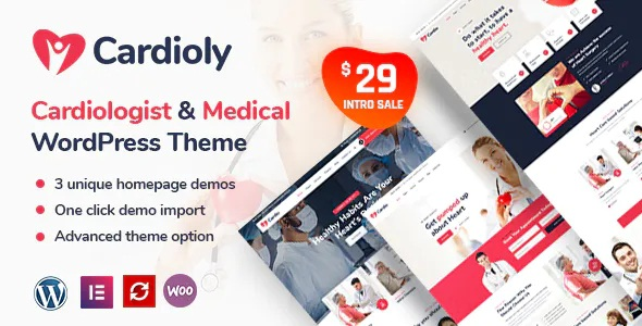 Best Cardiologist and Medical WordPress Theme