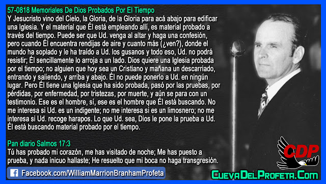 Material probado por el tiempo - William Branham en Español